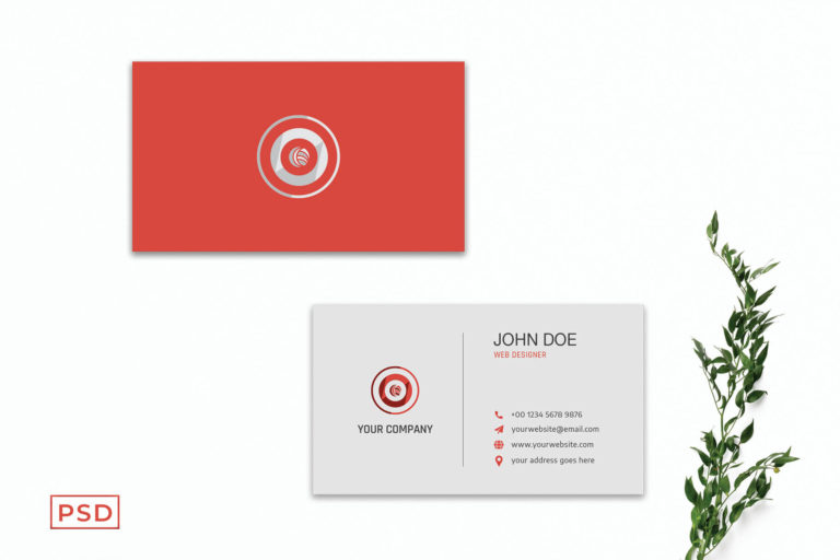 Preview image of Elegant Minimal Business Card Template V3