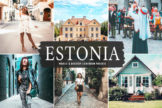 Last preview image of Estonia Mobile & Desktop Lightroom Presets