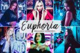 Last preview image of Euphoria Mobile & Desktop Lightroom Presets