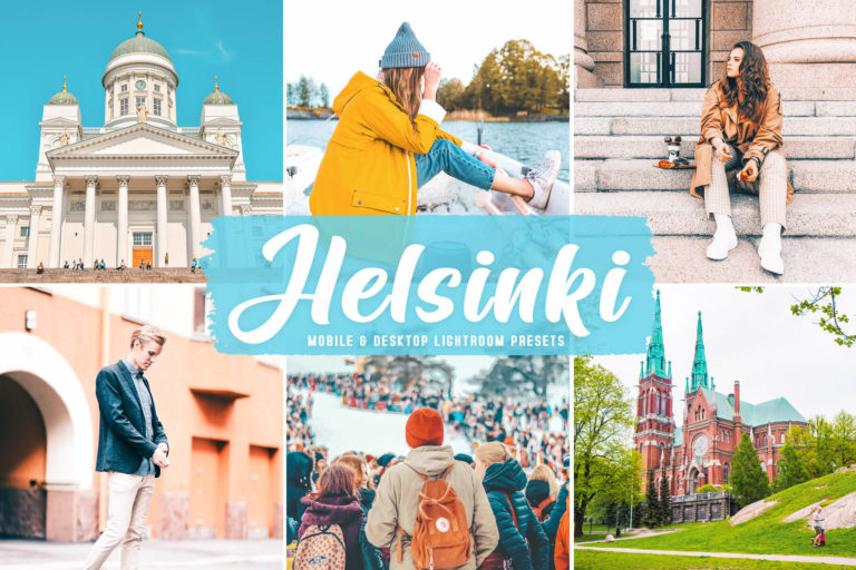 Preview image of Helsinki Mobile & Desktop Lightroom Presets