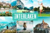 Last preview image of Interlaken Mobile & Desktop Lightroom Presets