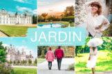 Last preview image of Jardin Mobile & Desktop Lightroom Presets