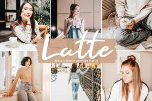 Latte Mobile & Desktop Lightroom Presets