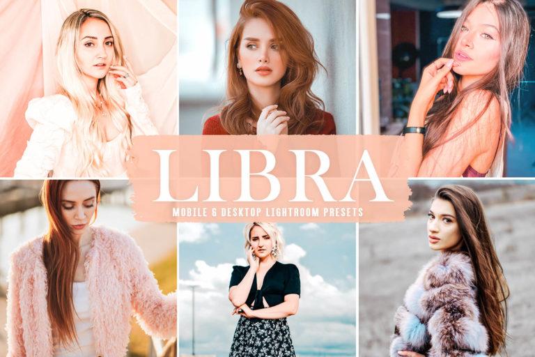 Preview image of Libra Mobile & Desktop Lightroom Presets
