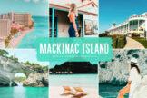 Last preview image of Mackinac Island Mobile & Desktop Lightroom Presets