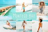 Last preview image of Montego Bay Mobile & Desktop Lightroom Presets