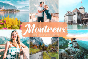Montreux Mobile & Desktop Lightroom Presets
