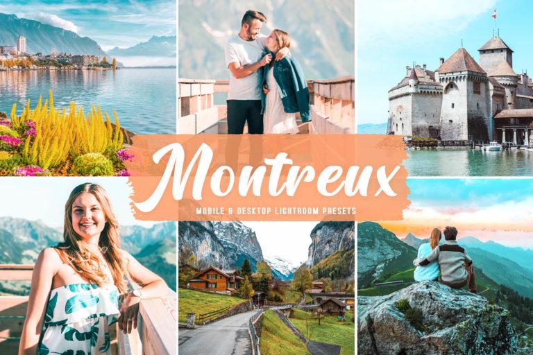 Preview image of Montreux Mobile & Desktop Lightroom Presets