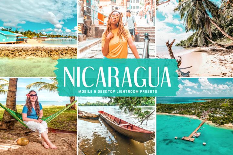 Preview image of Nicaragua Mobile & Desktop Lightroom Presets