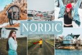 Last preview image of Nordic Mobile & Desktop Lightroom Presets