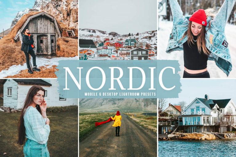 Preview image of Nordic Mobile & Desktop Lightroom Presets