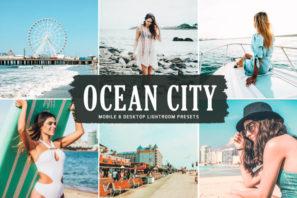 Ocean City Mobile & Desktop Lightroom Presets