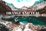 Last preview image of Orange And Teal Mobile & Desktop Lightroom Presets