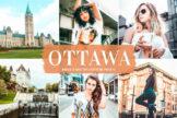 Last preview image of Ottawa Mobile & Desktop Lightroom Presets
