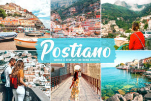 Postiano Mobile & Desktop Lightroom Presets