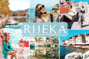 Rijeka Mobile & Desktop Lightroom Presets