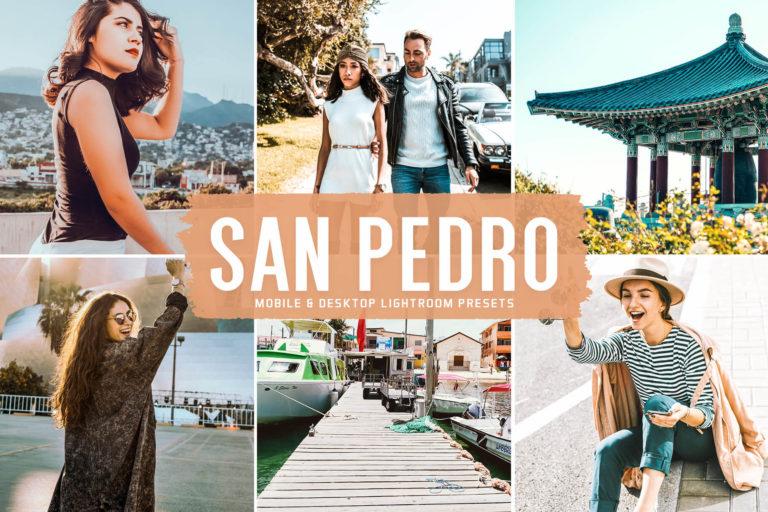 Preview image of San Pedro Mobile & Desktop Lightroom Presets
