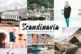 Last preview image of Scandinavia Mobile & Desktop Lightroom Presets