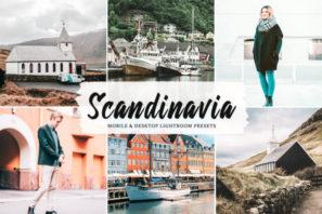 Scandinavia Mobile & Desktop Lightroom Presets