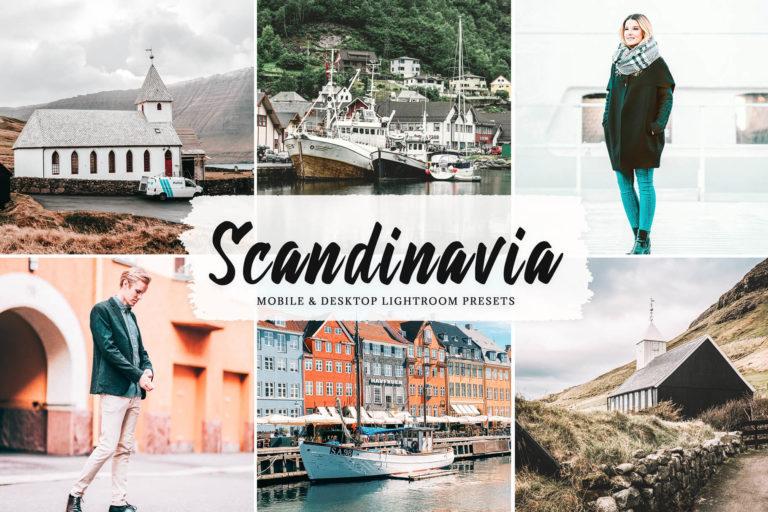 Preview image of Scandinavia Mobile & Desktop Lightroom Presets