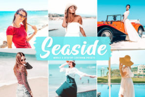 Seaside Mobile & Desktop Lightroom Presets