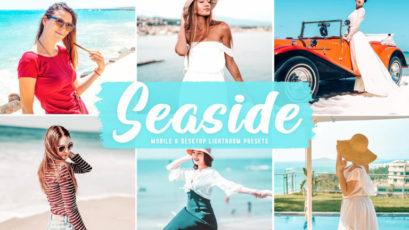 Seaside Mobile & Desktop Lightroom Presets