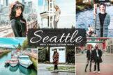 Last preview image of Seattle Mobile & Desktop Lightroom Presets