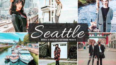 Seattle Mobile & Desktop Lightroom Presets