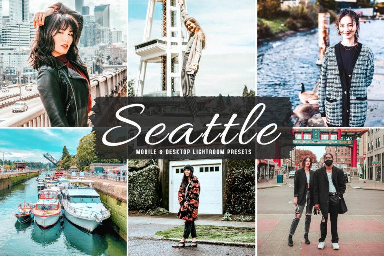 Preview image of Seattle Mobile & Desktop Lightroom Presets