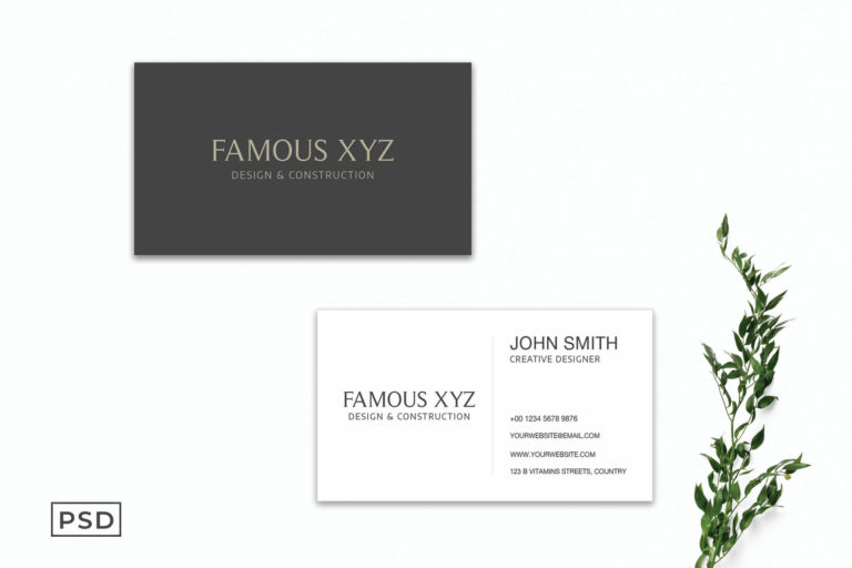 Preview image of Simple Business Card Template