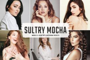 Sultry Mocha Mobile & Desktop Lightroom Presets