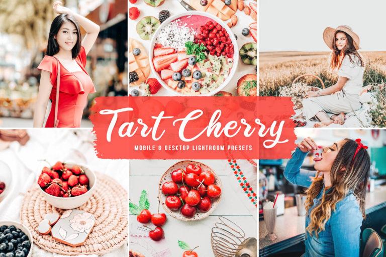 Preview image of Tart Cherry Mobile & Desktop Lightroom Presets