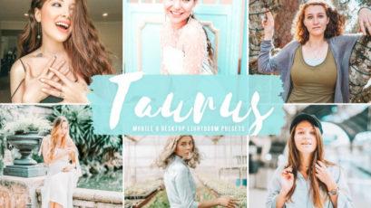 Taurus Mobile & Desktop Lightroom Presets