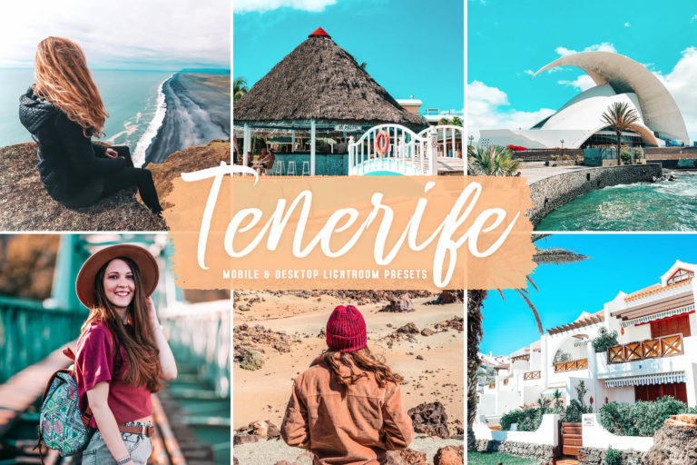 Preview image of Tenerife Mobile & Desktop Lightroom Presets