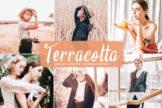 Last preview image of Terracotta Mobile & Desktop Lightroom Presets