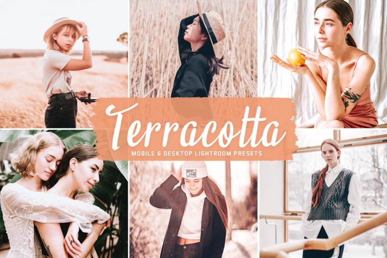 Preview image of Terracotta Mobile & Desktop Lightroom Presets