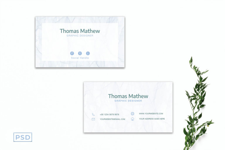Preview image of White Innovative Minimal Business Card Template