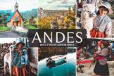 Last preview image of Andes Mobile & Desktop Lightroom Presets