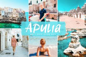 Apulia Mobile & Desktop Lightroom Presets