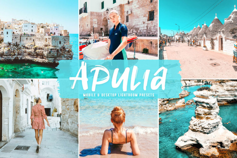Preview image of Apulia Mobile & Desktop Lightroom Presets