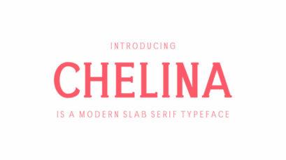 Chelina Slab Serif Font Family