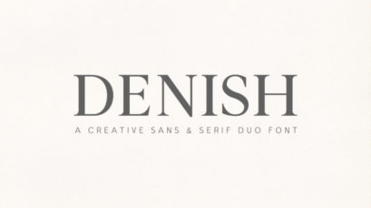 Denish Sans & Serif Duo Font