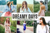 Last preview image of Dreamy Days Photoshop Actions