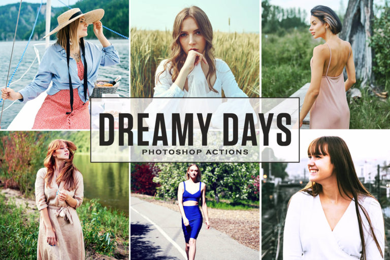 Preview image of Dreamy Days Photoshop Actions