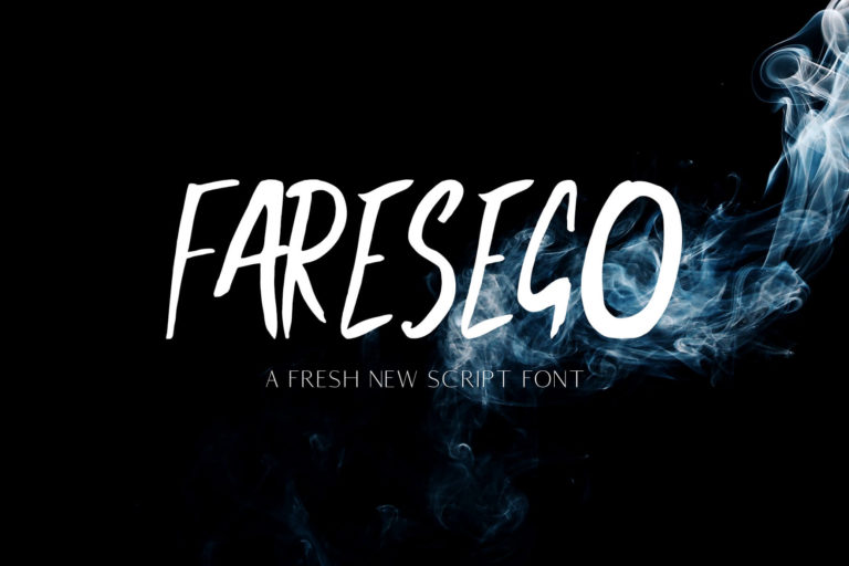 Preview image of Faresego Script Font