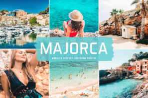Majorca Mobile & Desktop Lightroom Presets
