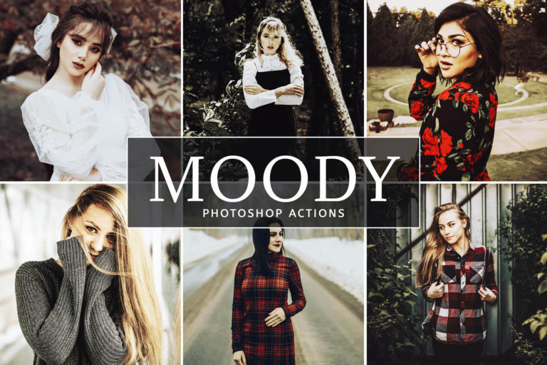 Preview image of Moody Photoshop Actions