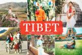 Last preview image of Tibet Mobile & Desktop Lightroom Presets
