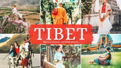 Tibet Mobile & Desktop Lightroom Presets