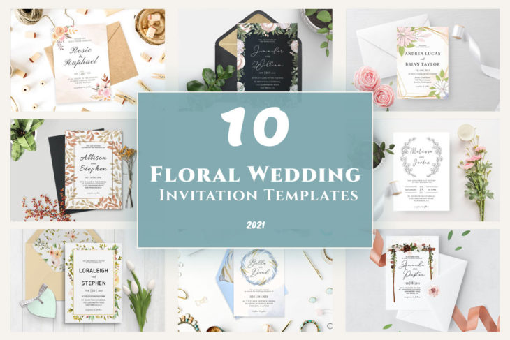 picture of 10+ Floral Wedding Invitation Templates